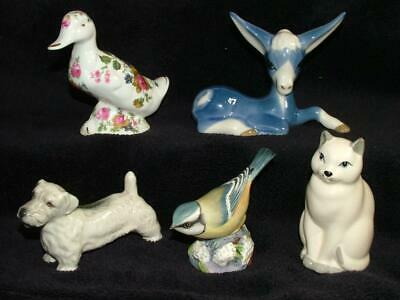 Porcelain Animals Szeiler Royal Worcester Branksome & Chelson Potteries