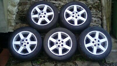 "Freelander 1 Alloy Wheels And Tyres 17"" x5  Land Rover (01-06)"
