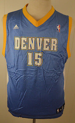 size 40 bf8d1 dcef7 ADIDAS NBA YOUTH 18/20 XL Carmelo Anthony Denver Nuggets #15 ...