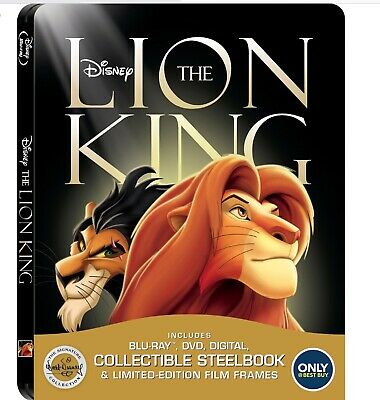 The Lion King - Blu-ray/Digital Steelbook brand new sealed