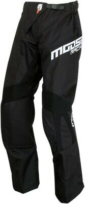 Moose Qualifier OTB Hose over the Boot Baggy Pant schwarz