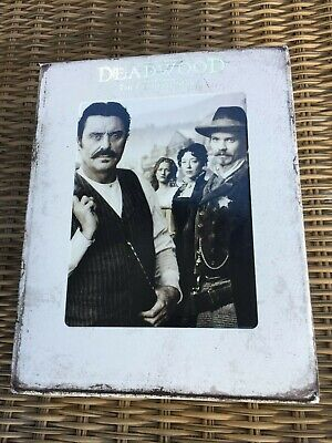 HBO Deadwood The Complete Series Blue-Ray Discs White Box Set