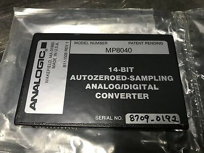 NEW Analogic MP8040 14-Bit Autozeroed Sampling A/D Converter Analog Digital