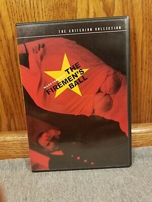 The Firemen's Ball Criterion Collection Milos Forman Rare & Out of Print OOP 145