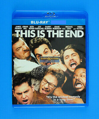 This is the End Blu-Ray Bluray with Case - No Digital or DVD - FREE SHIPPING