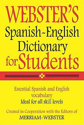 - Webster's Spanish-English Dictionary for Students (2010, Other)