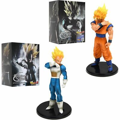 Dragon Ball Z Resolution of Soldiers Son Gokou Vegeta Super Saiyan PVC Figurine