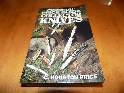 THE OFFICIAL PRICE GUIDE COLLECTOR KNIVES TENTH ED Knife Blade Collector VG Book