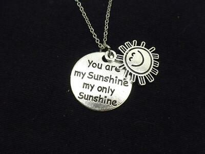 Sunshine Women Necklace Silver Plated New