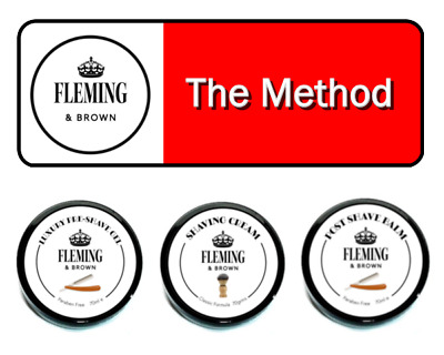 The Ultimate Shaving Experience - The Method + FREE Shaving Brush