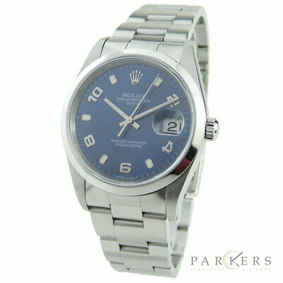 d0a12ad3254 Rolex Date Oyster Perpetual Stainless Steel Automatic Wristwatch 15200