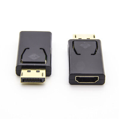 Mini Display Port DP Displayport Stecker auf HDMI Buchse Adapter Converter 1080P