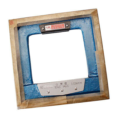 Adjust Level Bar Leveler High Accuracy 0.02mm with Storage Wooden Case 200mm
