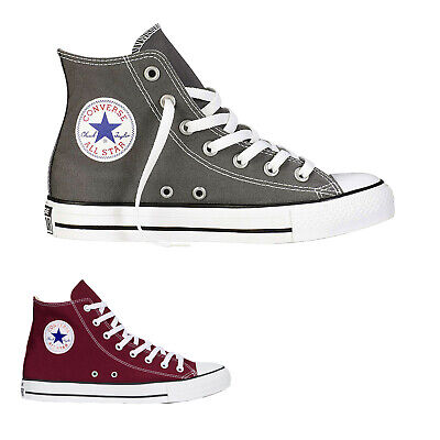 Converse All Star Hi Canvas Mens Womens Hi-Top Sneakers Unisex Trainers