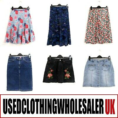50 Women's Mixed Skirts Long Midi Short Joblot Wholesale Clothing Fashion