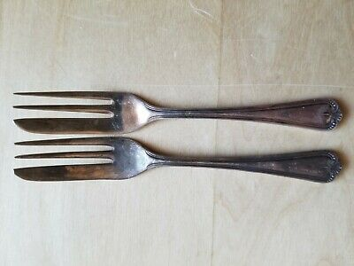 "2 Vintage Collectible Forks 5.25"", Epns A1 ,  Silver Plated,"