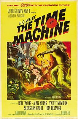 16MM  The Time Machine (1960)--UNCUT THEATRE PREVIEW- ROD TAYLOR!!