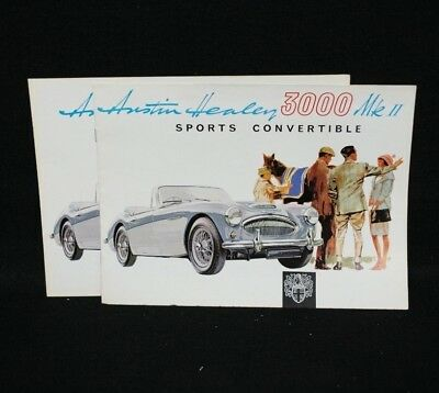 Austin-Healey 3000 MkII Sales Brochure