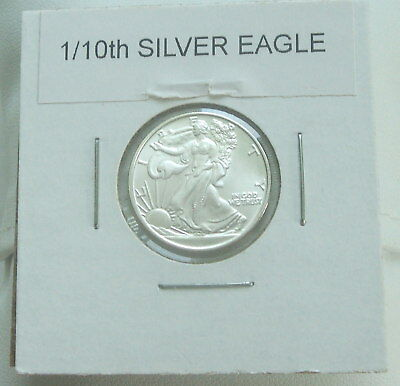 1/10th oz .999 Fine Silver Round Coin Great American Mint Walking Liberty Design