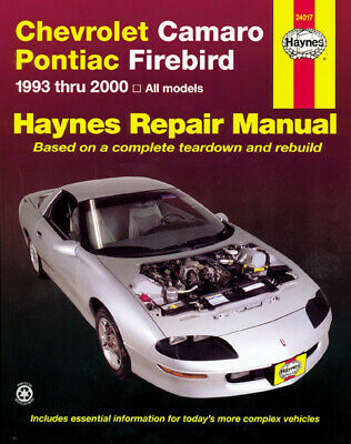 Chevrolet Camaro & Pontiac Firebird (1993-2002) Haynes Repair Manual (USA), Hayn