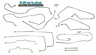 Brake Hydraulic Line Kit For 2002 Chevy Avalanche 1500 D741YF