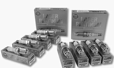 NGK Spark Plugs BKR6EQUP 3199 x8 BMW E53 X5 4.4i,4.6is 12120037607