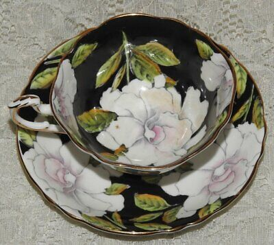 Vintage Paragon Fine Bone China Tea Cup and Saucer Peony Pattern G7768