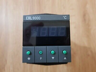 CAL 9000 PID Temperature Controller, 48 x 48 (1/16 DIN)mm, 2 Output Relay, 230 V