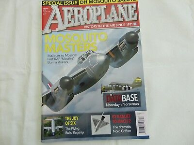 Aeroplane Monthly Feb 2018, Mosquito And Norseman