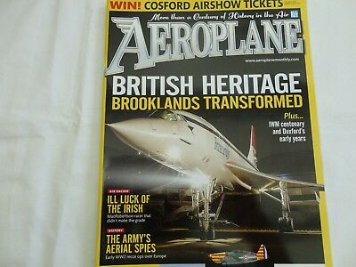 Aeroplane Monthly April 2017, Brooklands Museum, Morane Ms406, Duxford Airfield