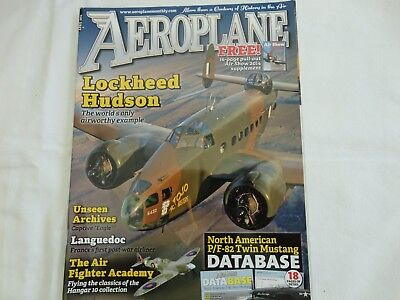 Aeroplane Monthly Apr 2014, Lockheed Hudson And Twin Mustang
