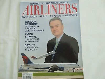 Airliners Magazine Issue 112, Tiger Airways And Interview With Gordon Bethune