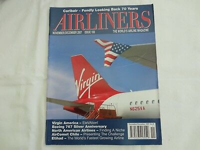 Airliners Magazine Issue 108 Virgin America Etihad And Boeing 767