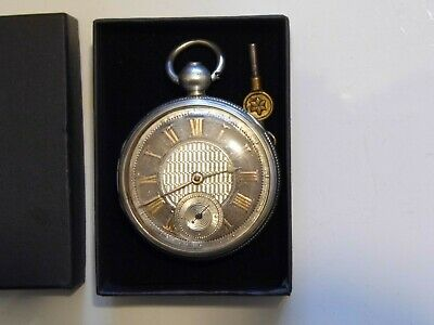Beautiful Antique London Hallmarked Silver VERGE Fusee Pocket Watch Dated 1824.