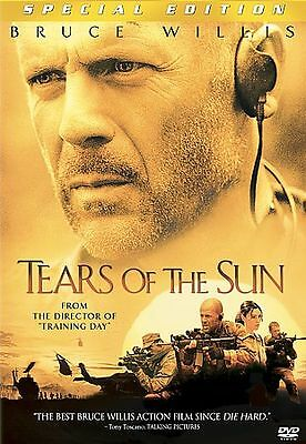 DVD Movie TEARS OF THE SUN Bruce Willis NEW SEALED Military WS FREE S/H