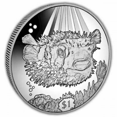 Porcupine Fish 2019 Uncirculated Cupro Nickel Coin