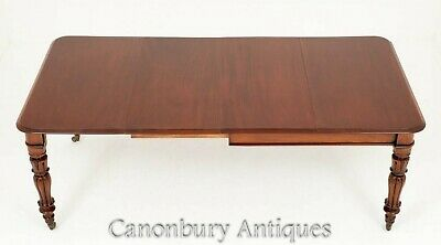 William IV Dining Table - Mahogany Extending 19th Century