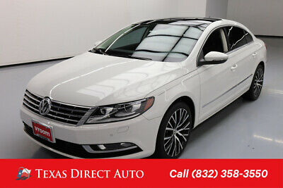 2014 Volkswagen CC VR6 Executive 4Motion Texas Direct Auto 2014 VR6 Executive 4Motion Used 3.6L V6 24V Automatic AWD