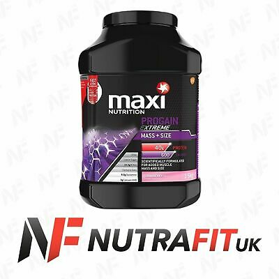 Maxinutrition Progain Extreme Mass Size 1,5Kg Strawberry Protein Gainer 15/3/19