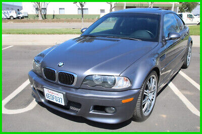 2002 BMW M3  2002 BMW M3 SMG Paddle-Shift 6-Speed Automatic 111K Low Miles NO RESERVE