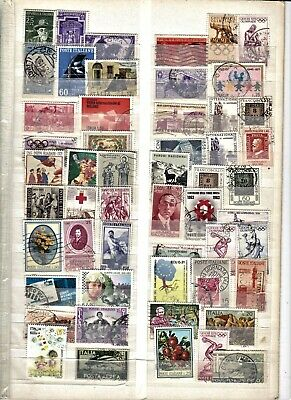 Italy collection....album page with used stamps