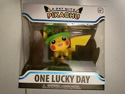 Funko Figure Pokemon A Day With Pikachu One Lucky Day