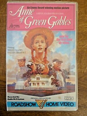 ANNE OF GREEN GABLES Roadshow Home Video VHS New Sealed Original Clamshell Case