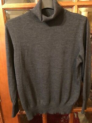 basler 16 Grey Wool Polo Neck 16