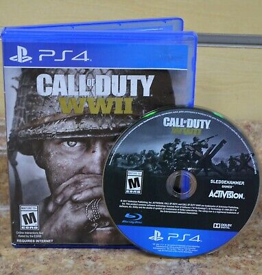*Call of Duty: WWII (Sony PlayStation 4, 2017) Free Shipping