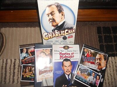 Charlie Chan Collection Vol 5 DVD 2008 4 DVD Box Set Sidney Toler Mint (6)Movies