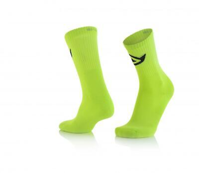 Short motorcycle socks above ankle Yellow Acerbis COTTON 0022491.063 US