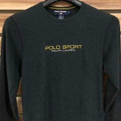 USA Made Mens Gray Polo Ralph Lauren Sport Athletic Base Layer L/S Shirt M