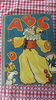 Vintage Book 1930s ABC  Hard Cover ,25.5 x 19 cms