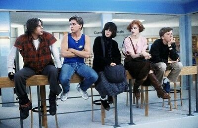 The Breakfast Club Movie Poster 24x36 USA Seller